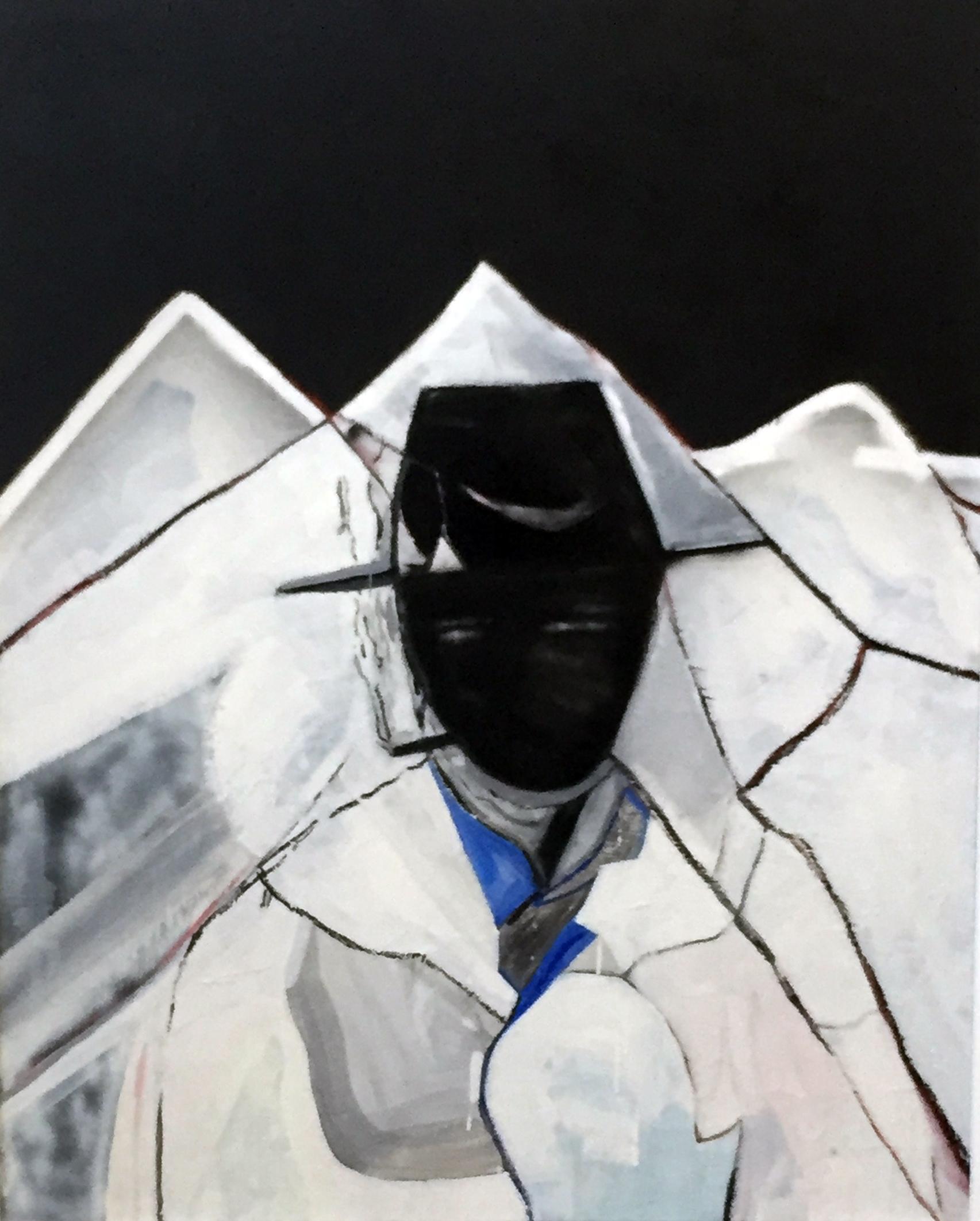 Jeremy Kibel, Smoking Man 120 x 150 cm, available