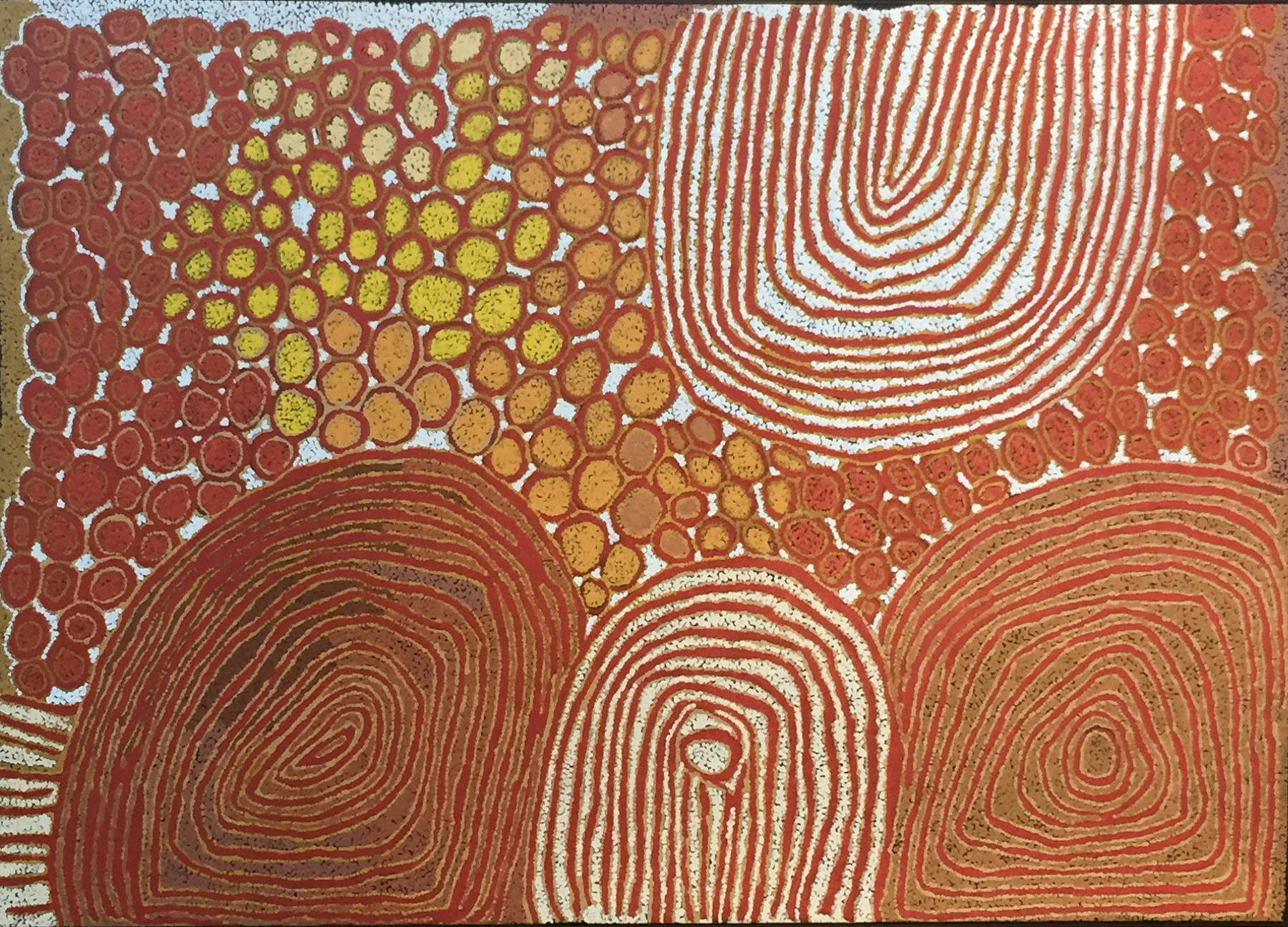 Walangkura Napanangka, Untitled 120 x 180 cm
