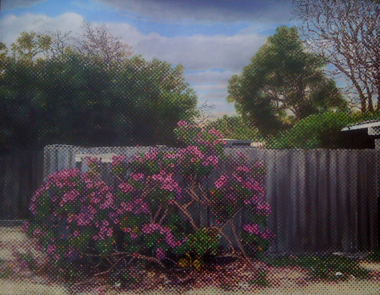Marc de Jong, Edithvale Lane oil on canvas, 94 x 86 cm, available
