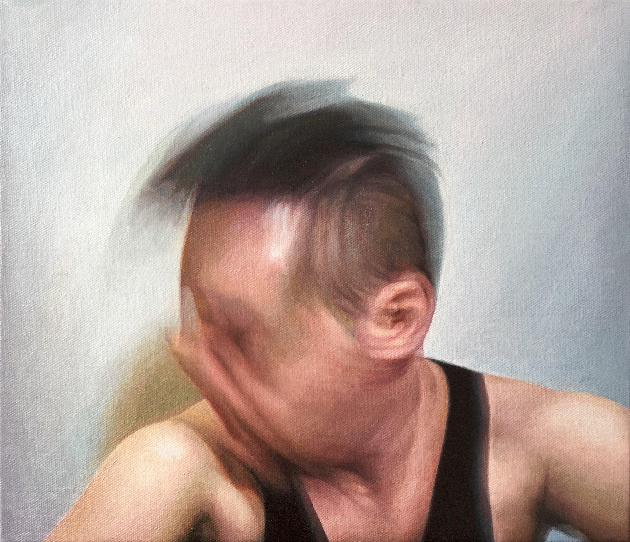 James Bonnici, Sam II oil on linen, 36 x 31 cm, available