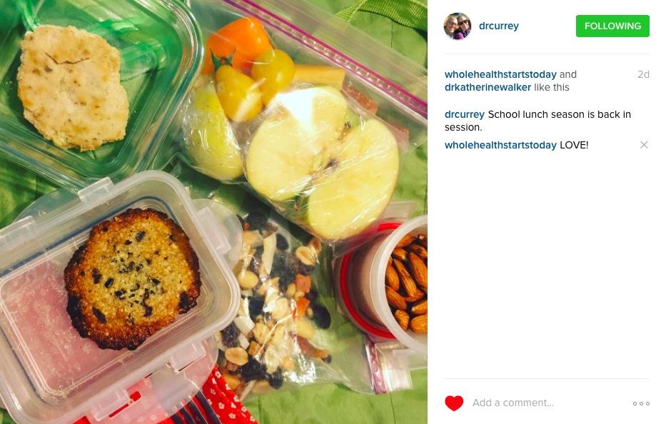 Dr-Currey-Instagram-kids-lunch