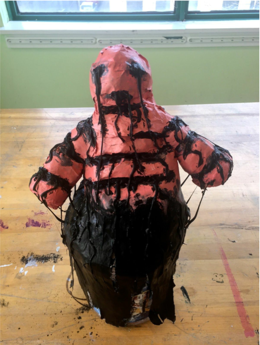 Chloe  Found Object Sculpture