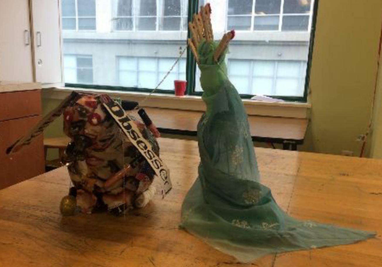 Isabel  Found Object Sculpture