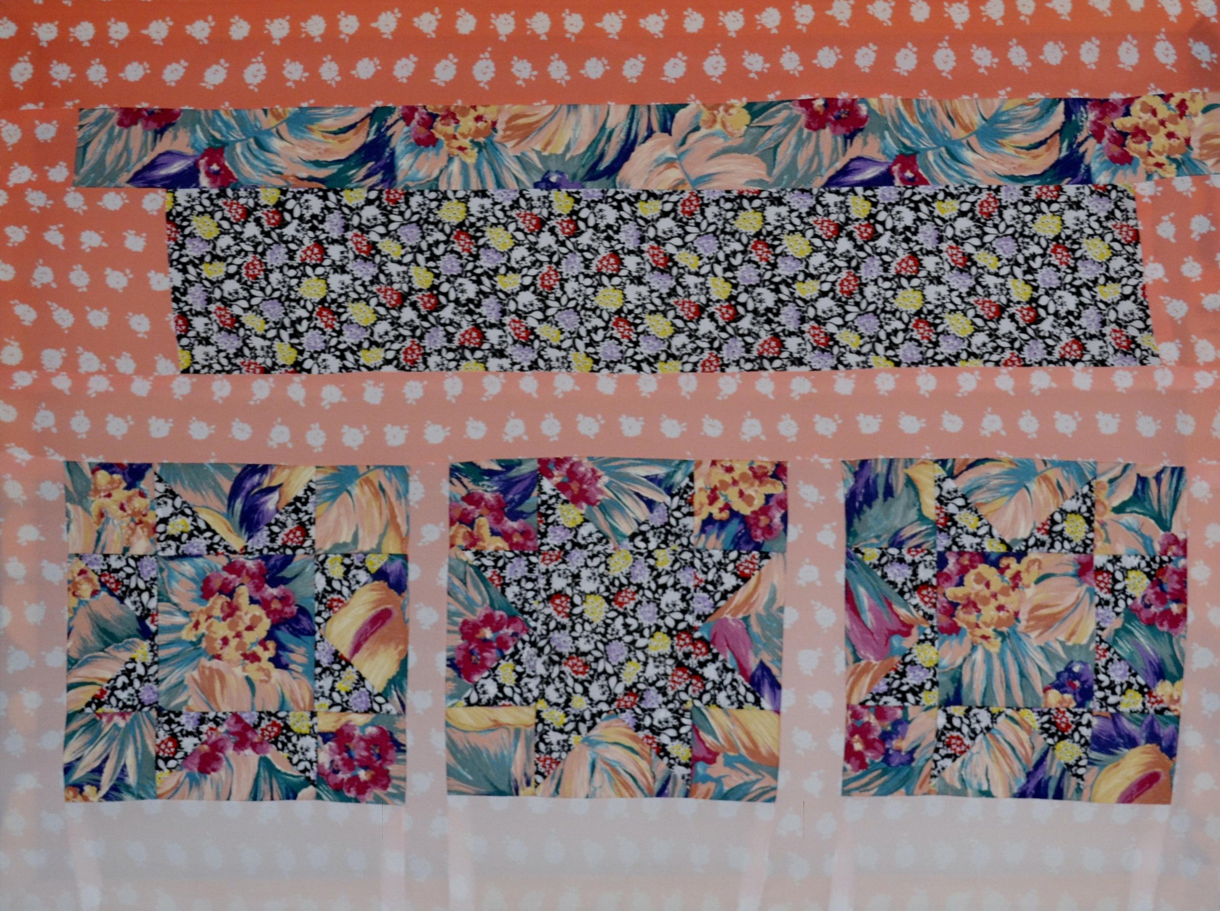 The Jungle Line   , 2011 sewn fabric 36 x 52 inches  Private Collection, Pennsylvania