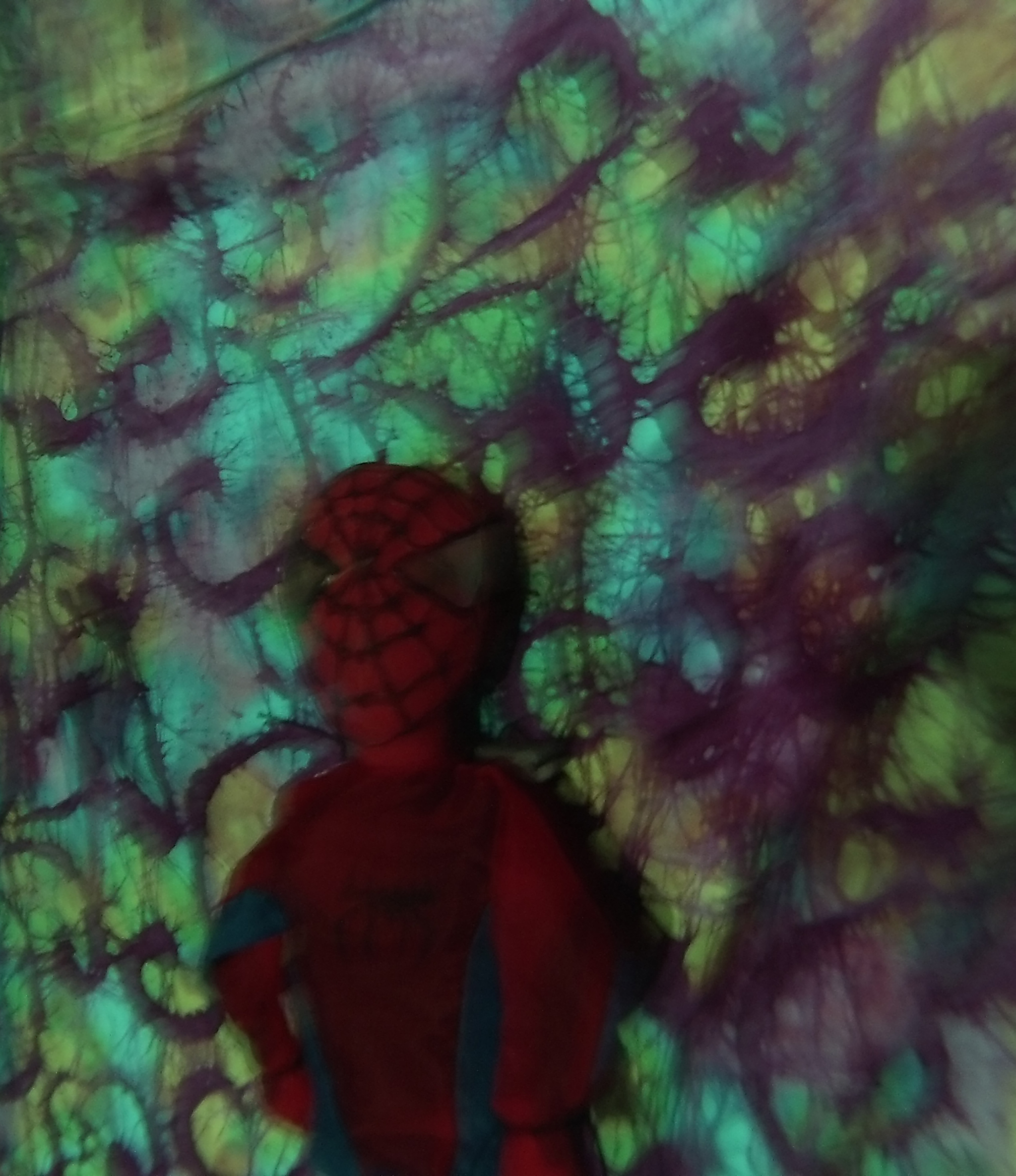 Spider-Man Water Suspension 5-2 , 2015 photograph print 3.5 x 2.5 inches