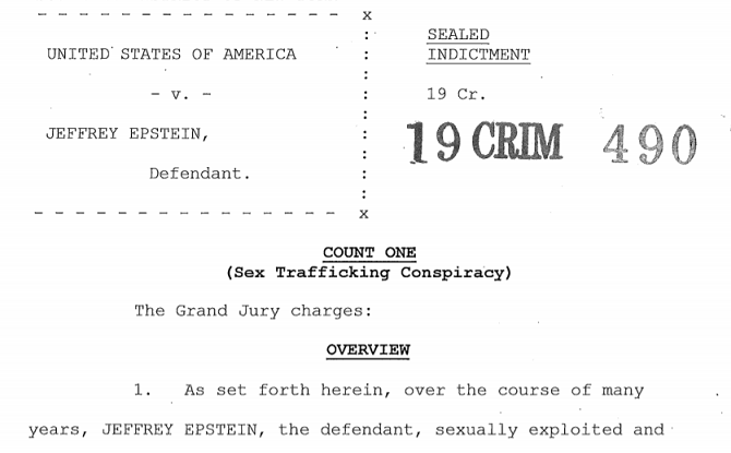 Jeffrey Epstein Estate and Lawsuits by Victims