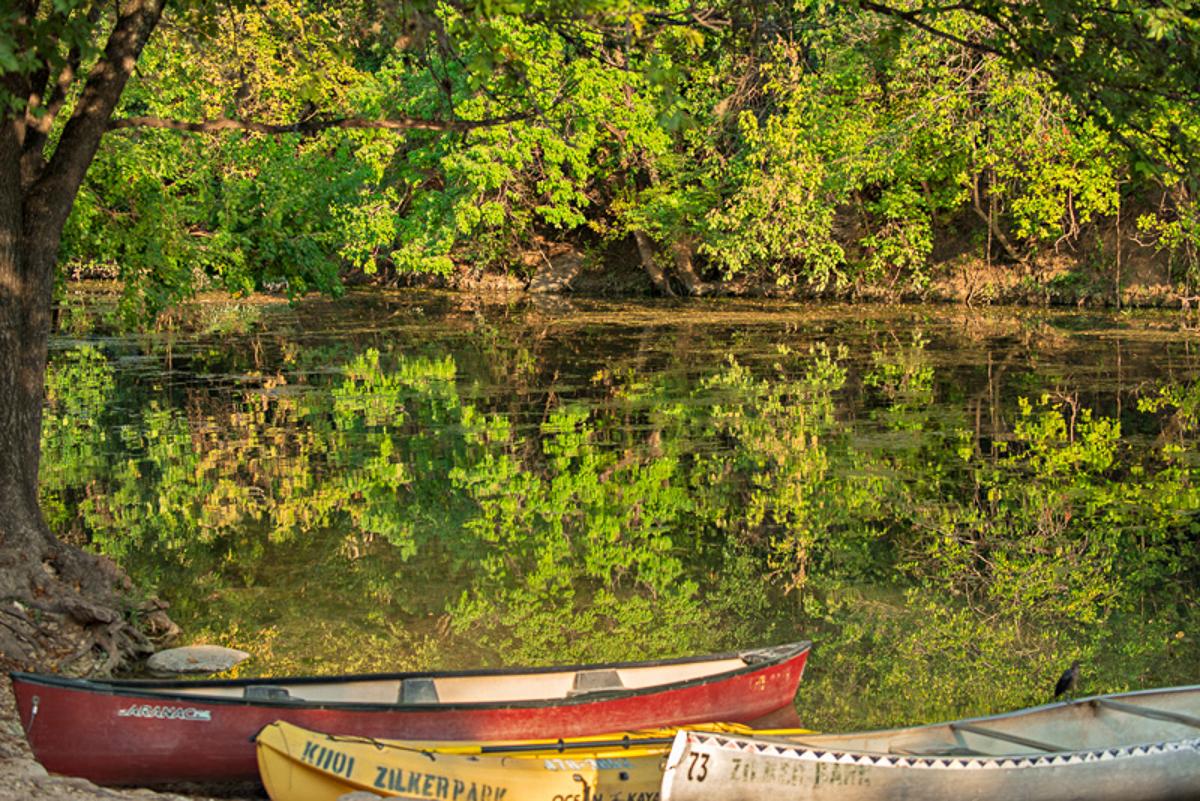 Boats, Barton Creek