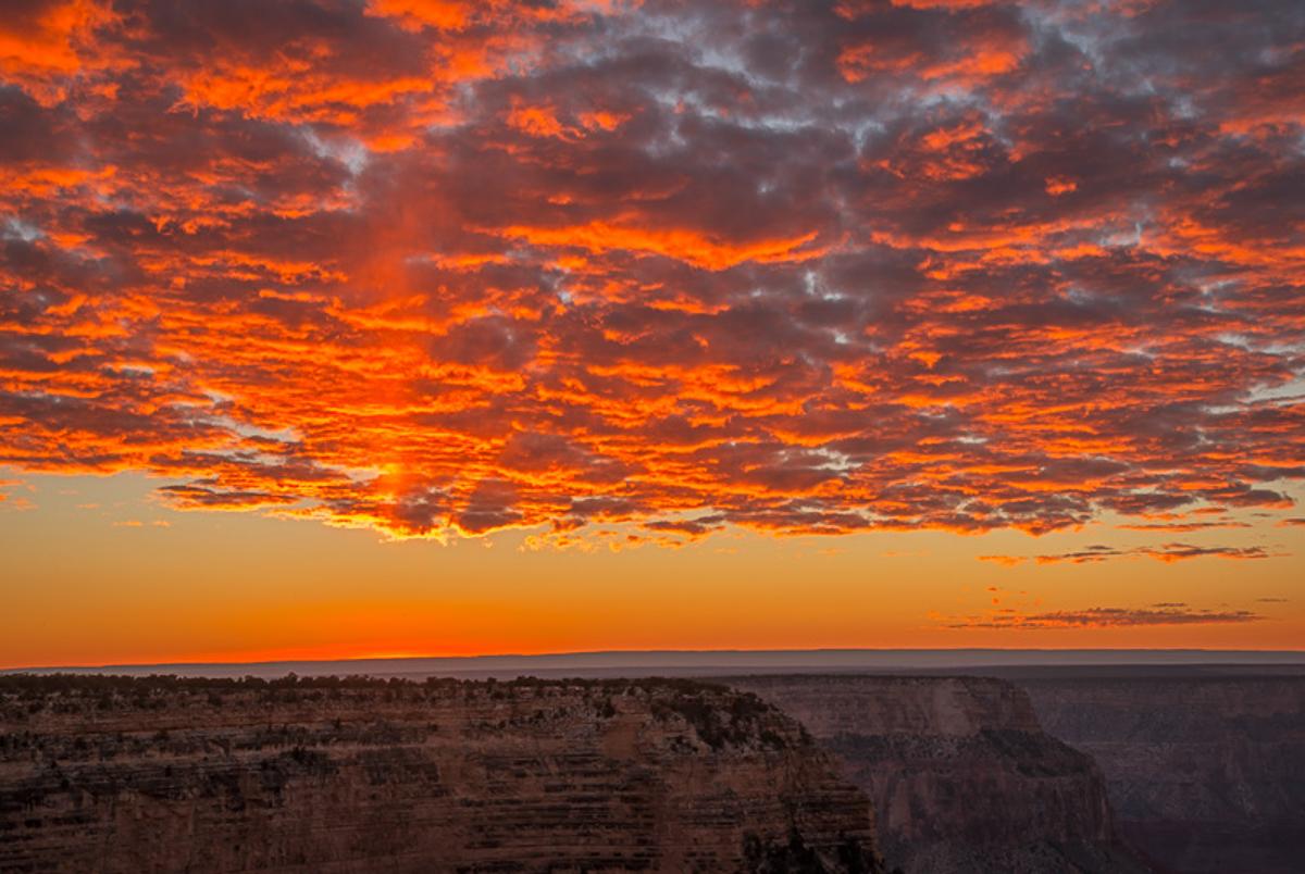 Fiery Sky, Grand Canyon