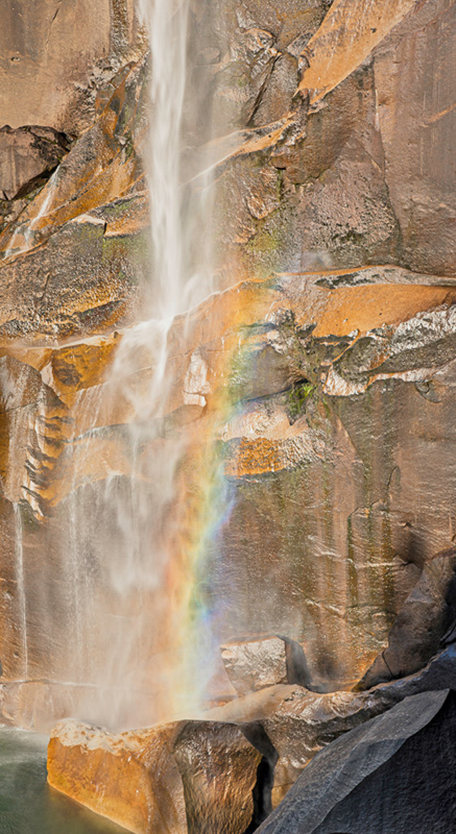 Vernell Falls with Rainbow