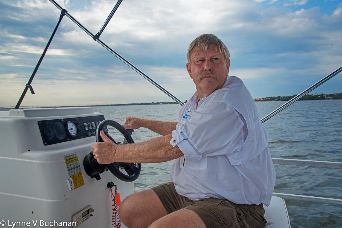 Riverkeeper Marty Baum on Patrol