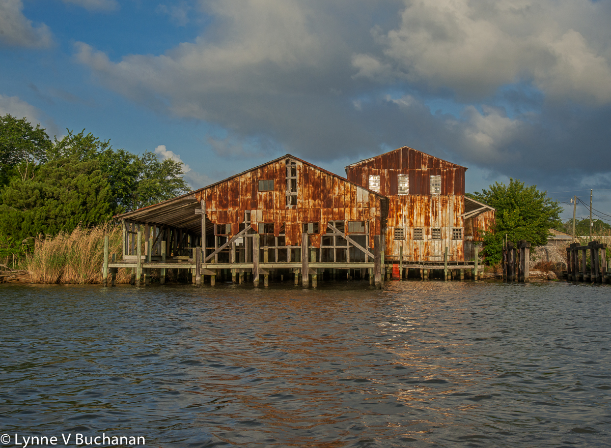Rusted Building, Apalachicola Riverfront