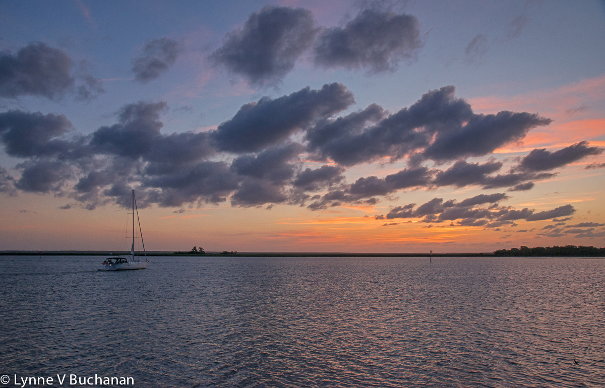 Setting Sail at Dawn