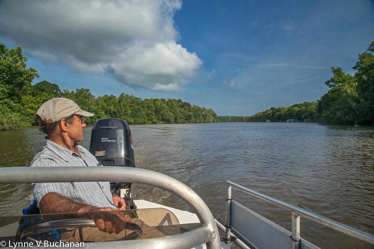 Dan Tonsmiere Surveying the River
