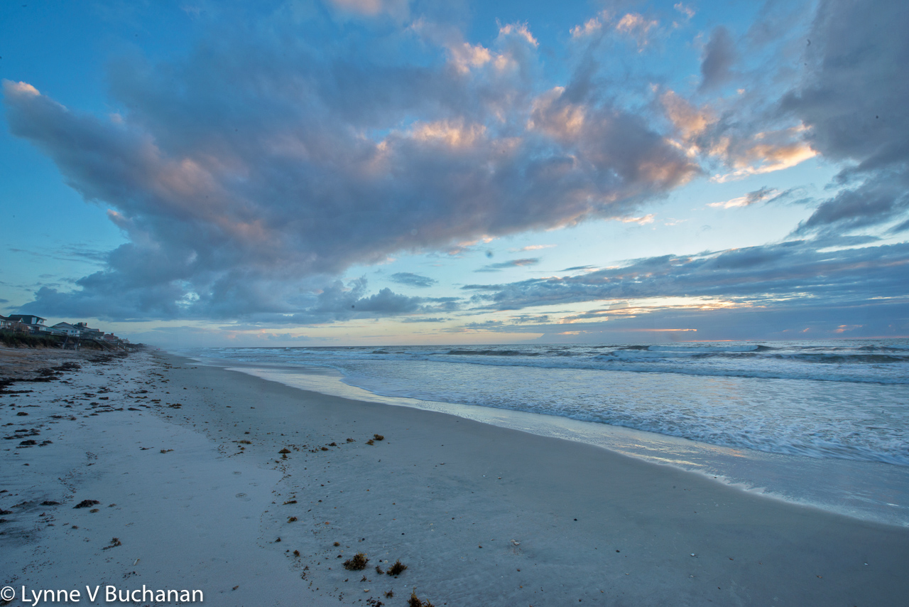 Sunrise Looking North, Vilano Beach