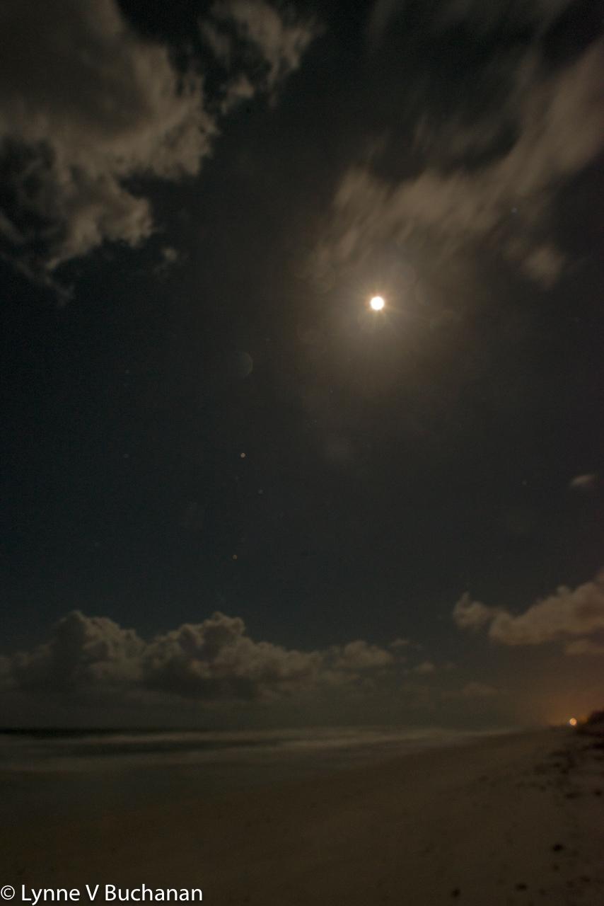 Full Moon, Vilano Beach