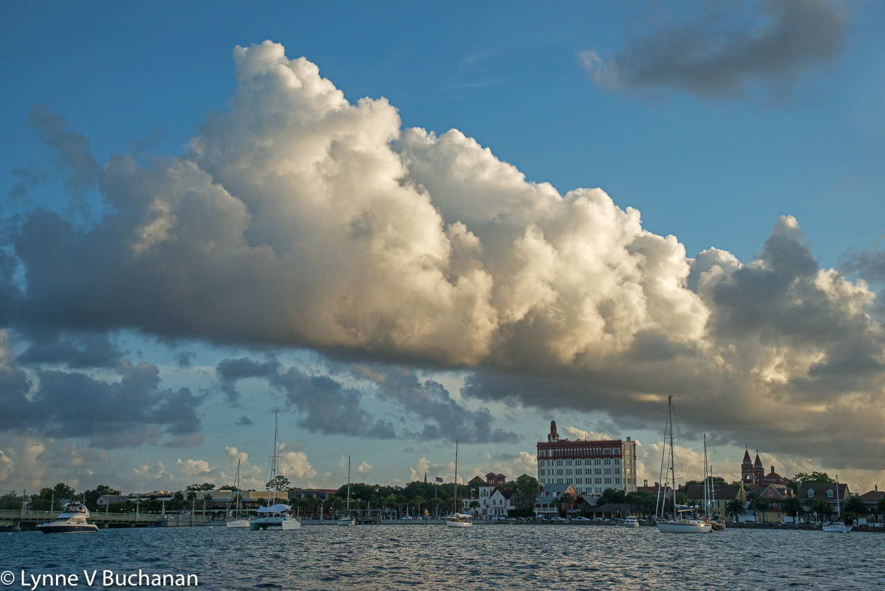 Clouds Over St. Augustine