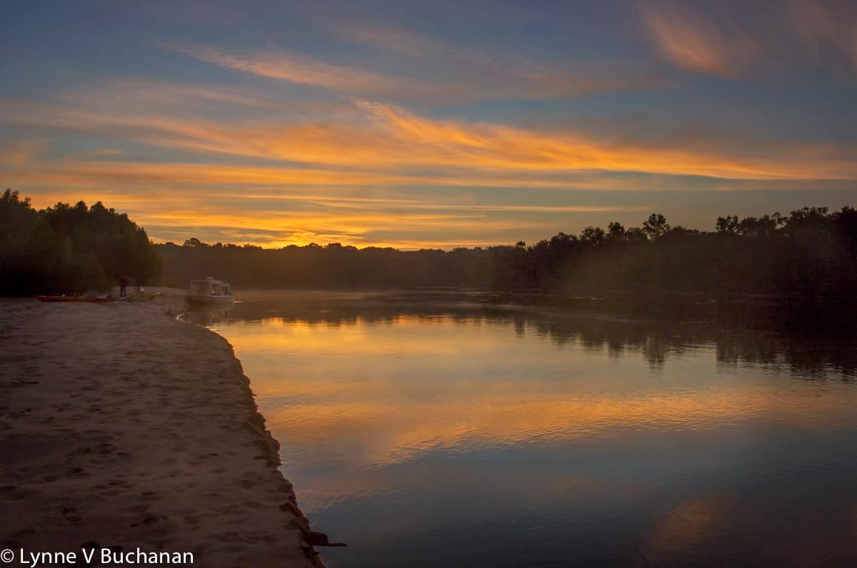 Morning Serenity, Apalachicola Sandbar Campsite