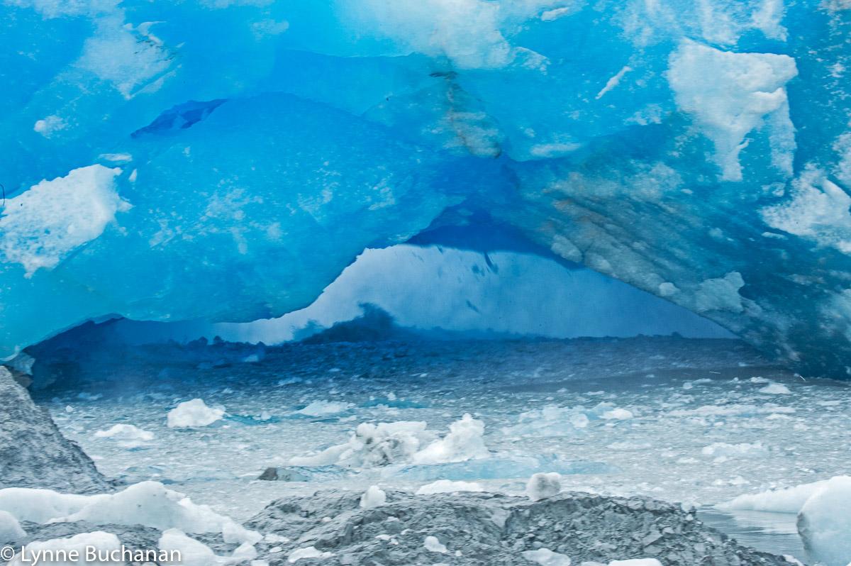 Start of the Arch Collapse, Pio XI Glacier