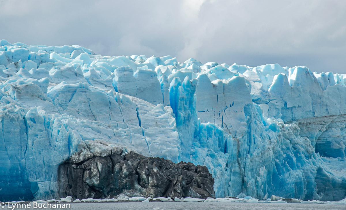 Glacial Fissures, Pio XI Glacier