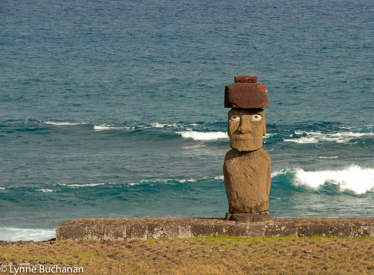 Moai with Coral Eyes, Tahai