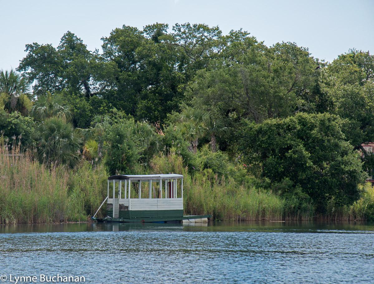 Primitive Floating House, Bayou Texar