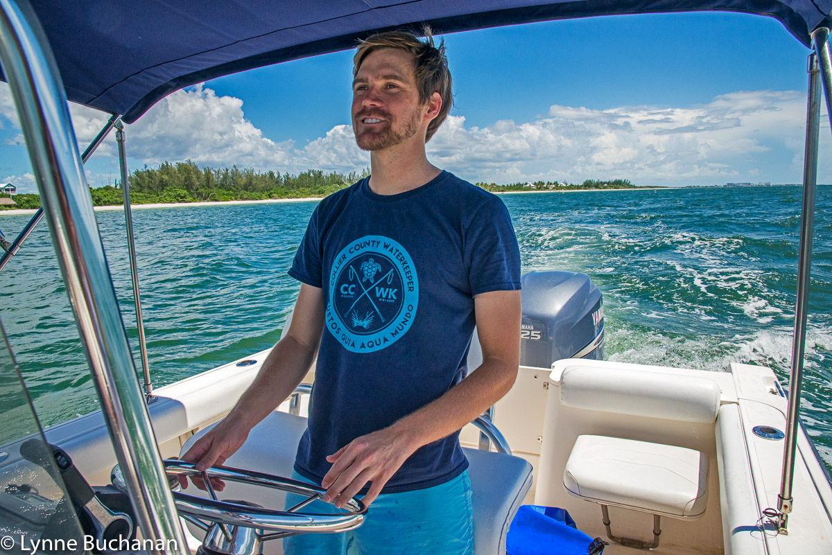 Harrison Langley at the Helm