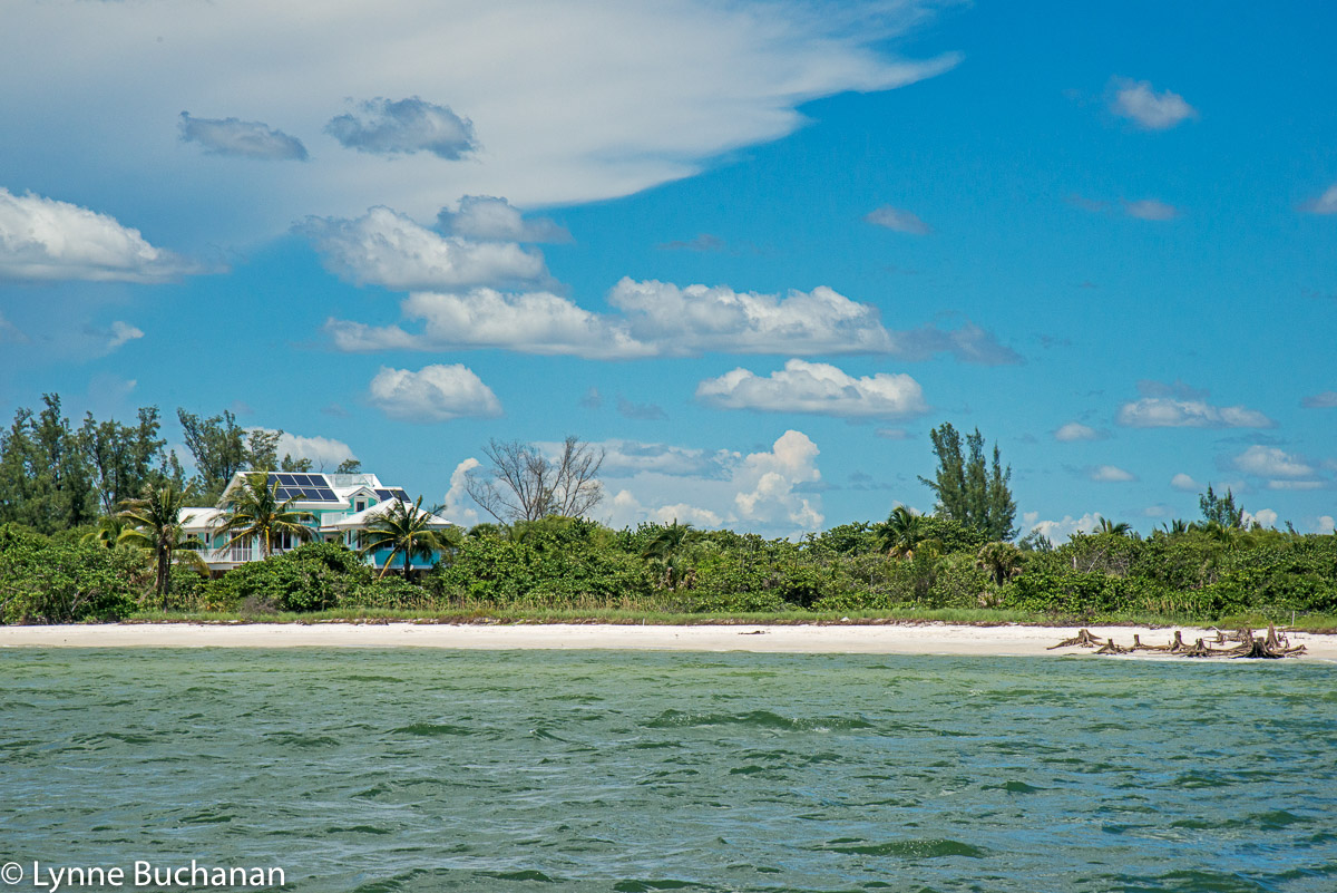 Solar Panels on Keewaydin Island