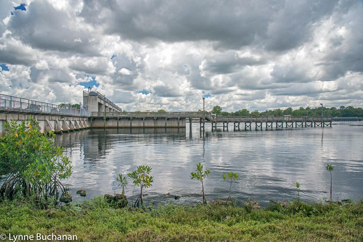 Franklin Lock and Dam, Alva, Caloosahtachee River