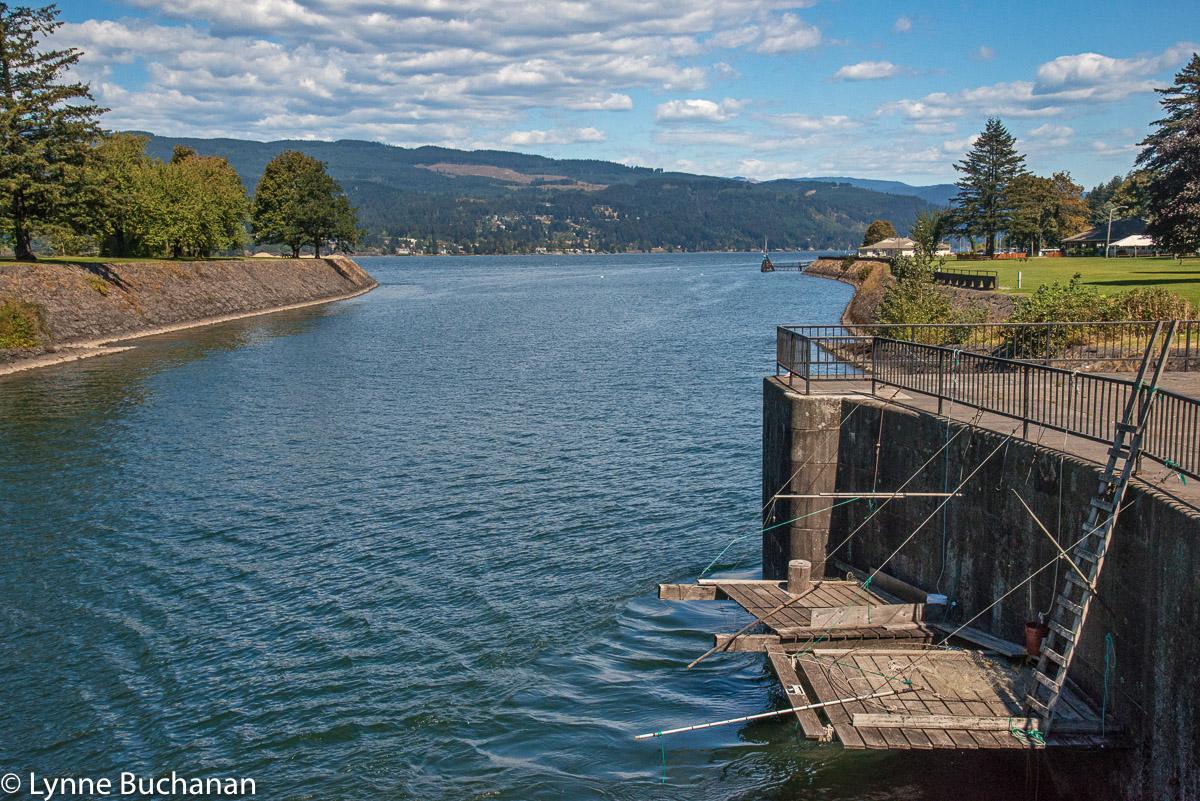 Fishing Platforms, Cascade Locks