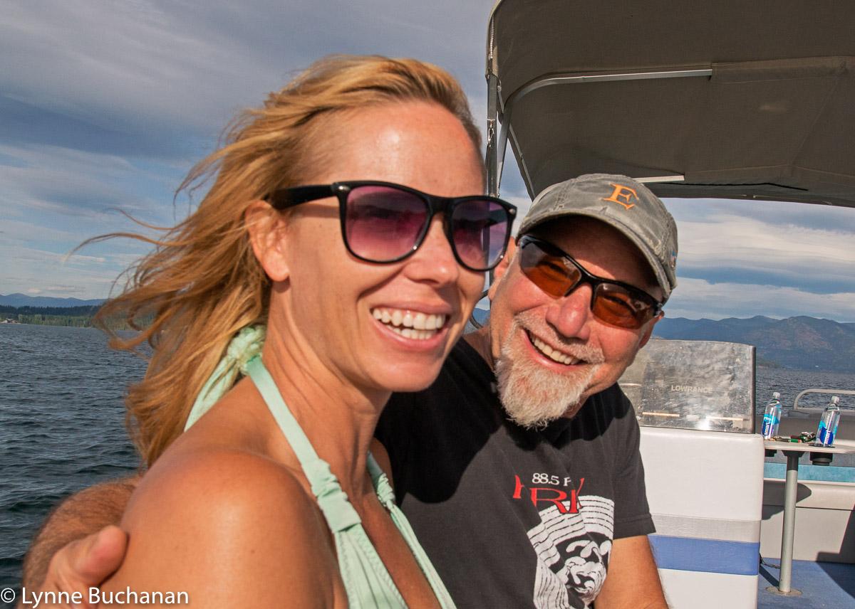 Shannon Williamson and Steve Holt
