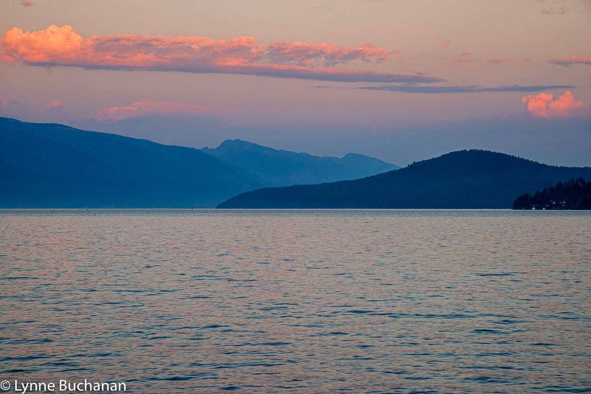 Sunset Lake Pend Oreille