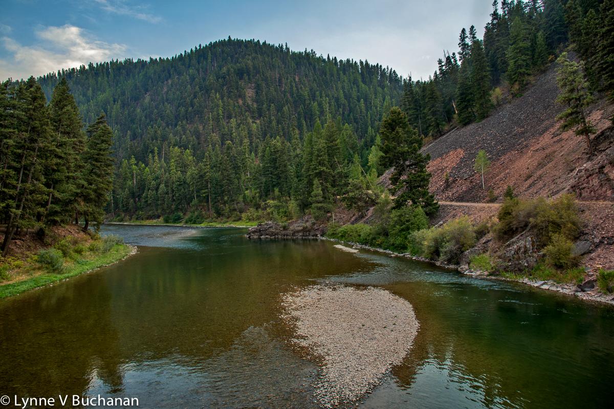 Low Water Levels, Big Blackfoot River