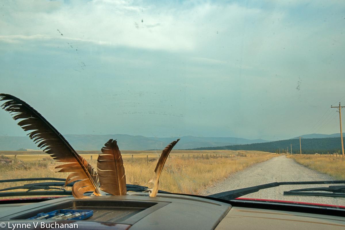 Cruising the Empty Roads in Jerry's Truck