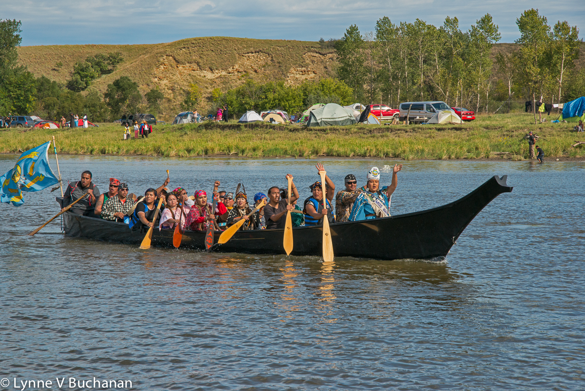 Miss Warm Springs Arriving by Boat