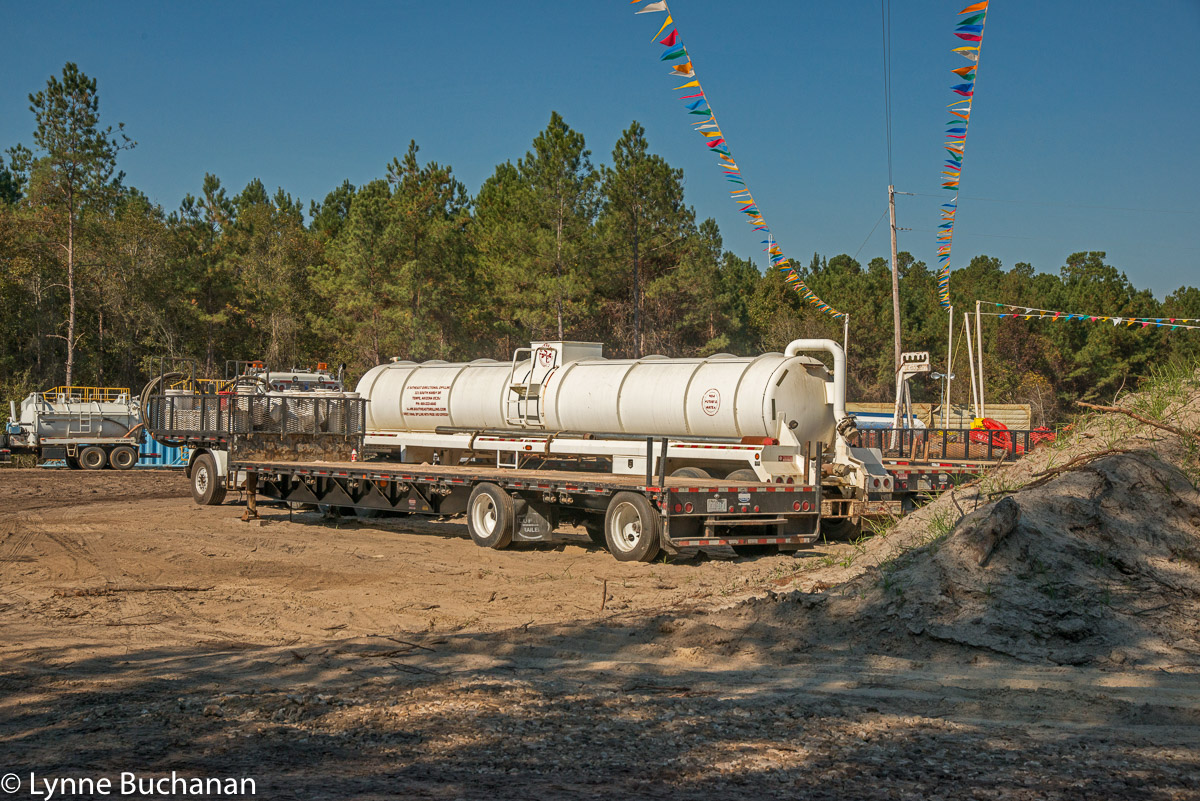 Water Truck at the HDD Site