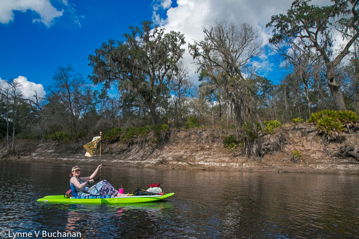 Enjoying the Float Down the River