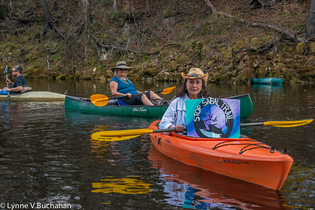 Pam Smith, President of Our Santa Fe River