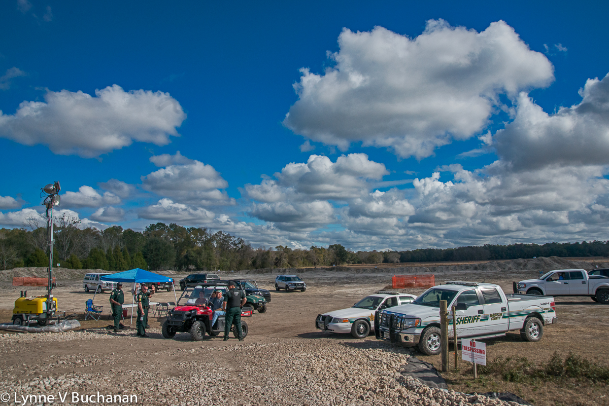 Security at a Construction Site Near the Suwannee River State Park