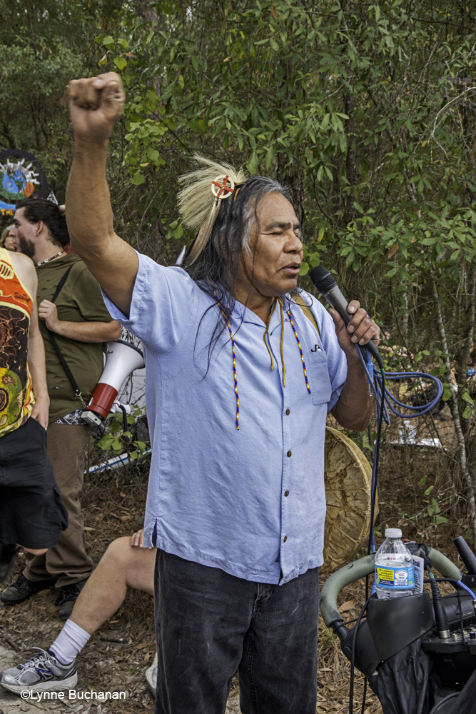 A Muscogee Tribe Member Speaking About Water