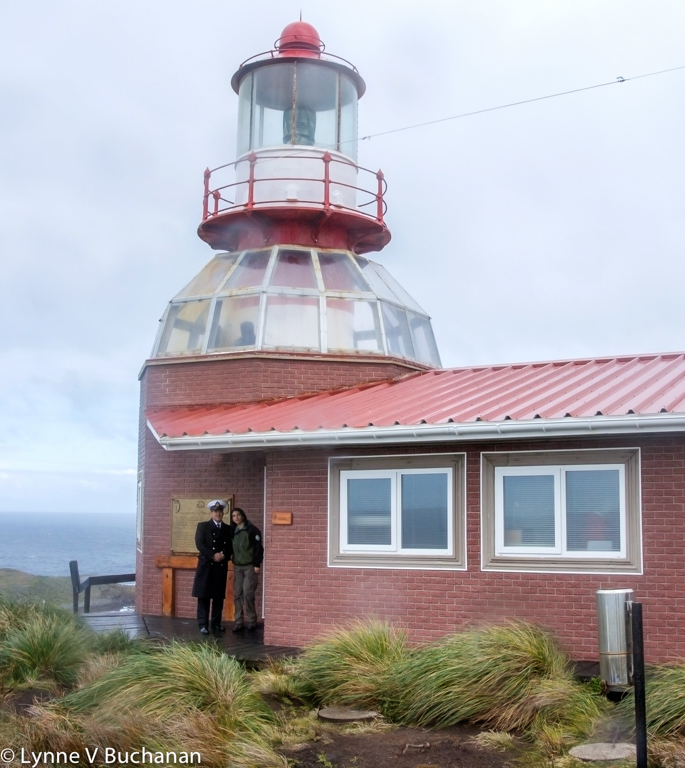 Lighthouse Keeper and His Girlfriend