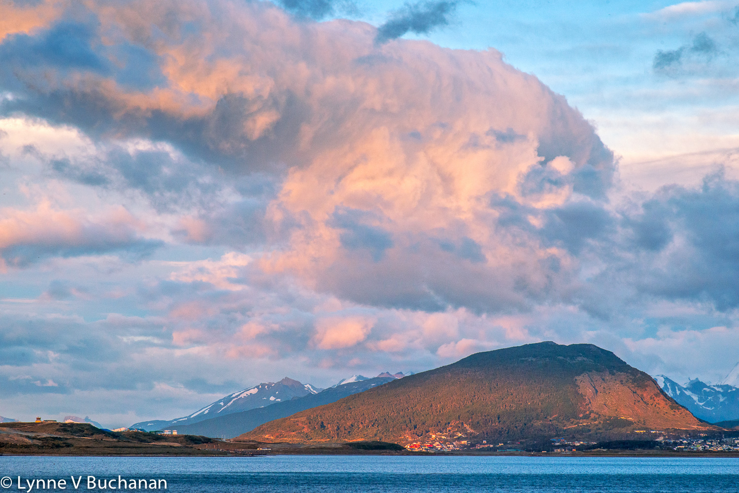 Clouds and Mountains, Ushuaia
