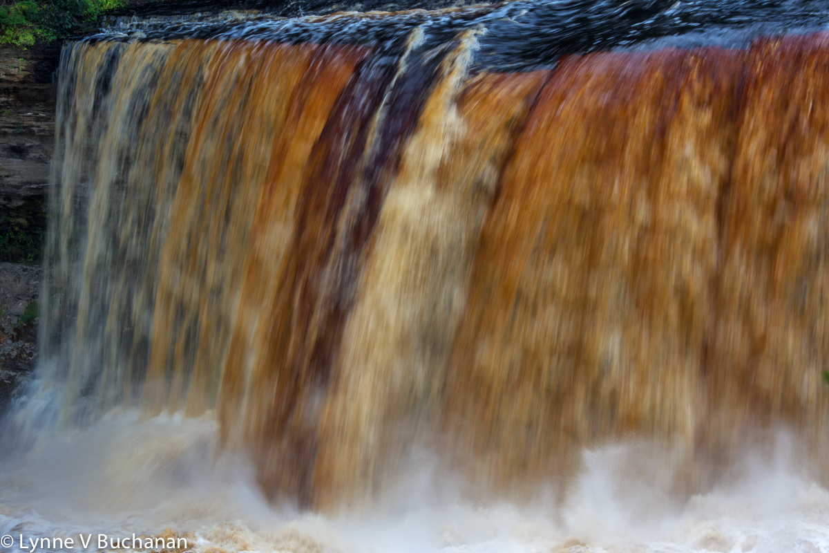 Tahquamenon Falls Movement and Power
