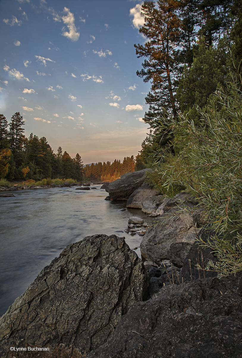 Big Blackfoot River, Peaceful Dawn
