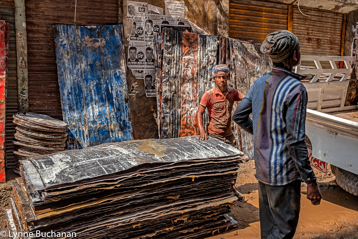 Sheet Metal Vendor, Old Dhaka