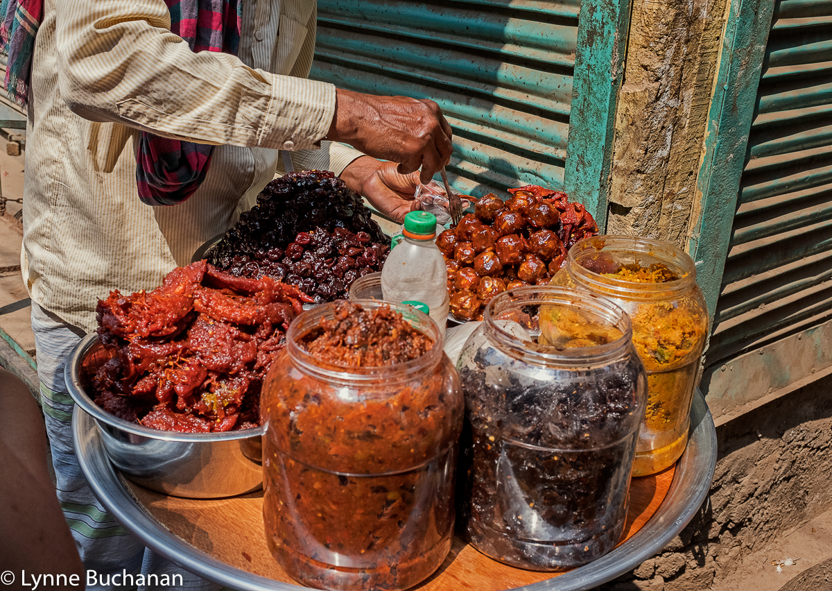 Old Dhaka, Street Pickles