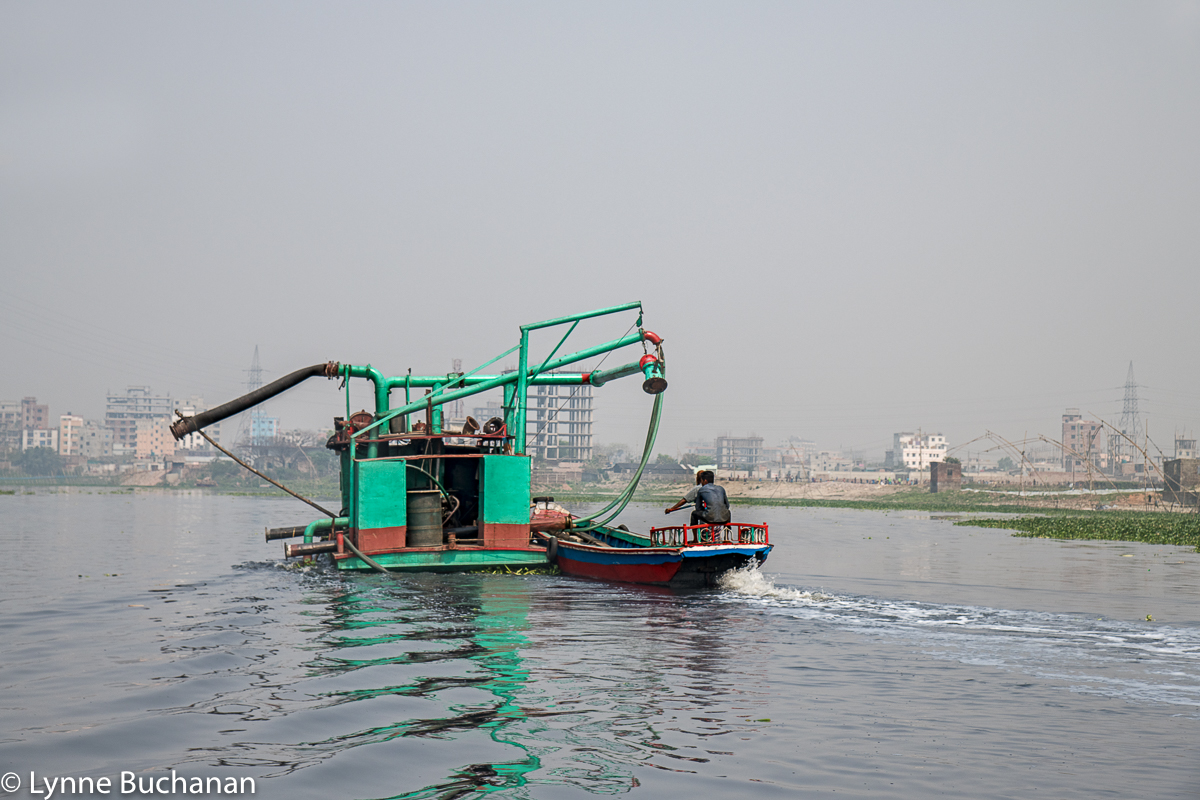 Buriganga River Dredging Operations