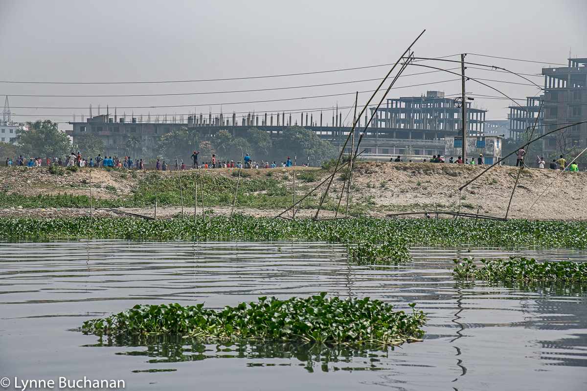 Buriganga River Park and Fishing Poles