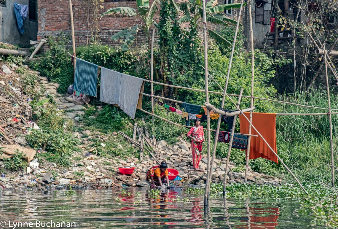 Doing Laundry on the Buriganga