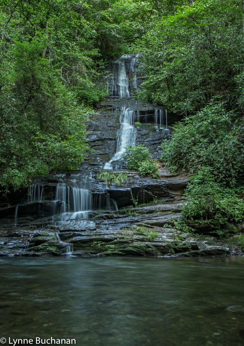 Tom's Falls on Deep Creek