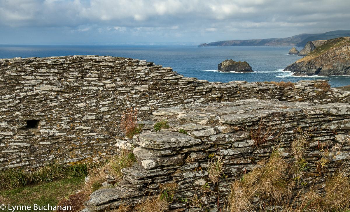 Tintagel Castle Walls